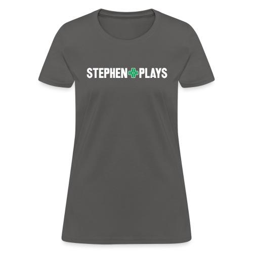 stephenplays_logo_shirt - Women's T-Shirt