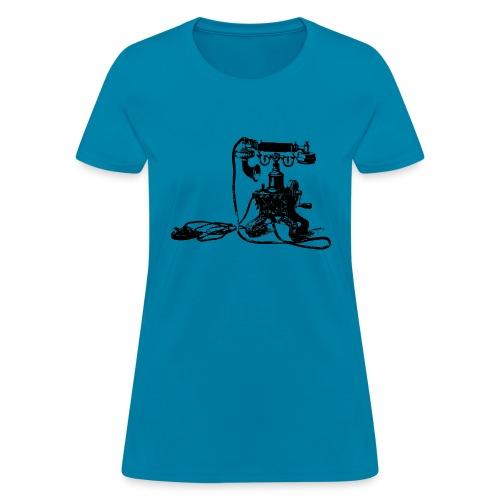 Vintage Telephone - Women's T-Shirt