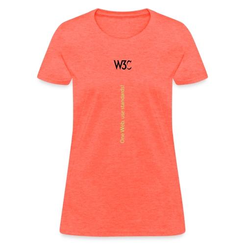 One Web use standards - Women's T-Shirt
