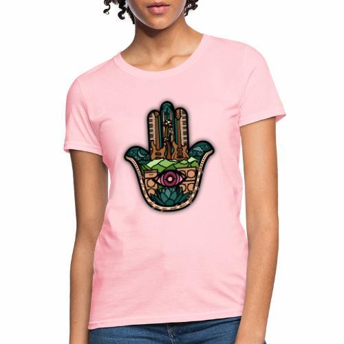Hatti's Hamsa V2 - Women's T-Shirt