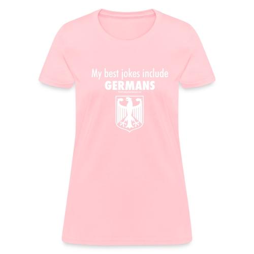 17 Germans white lettering - Women's T-Shirt