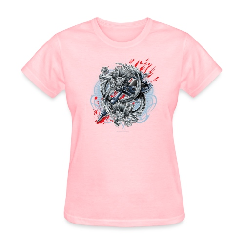 Dragon Tattoo by RollinLow - Women's T-Shirt