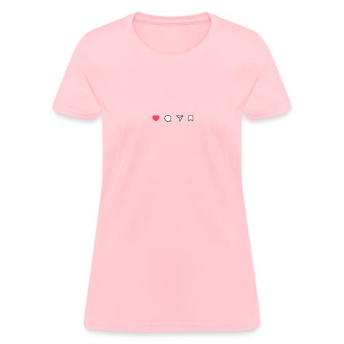 Cute Instagram Design - Women's T-Shirt