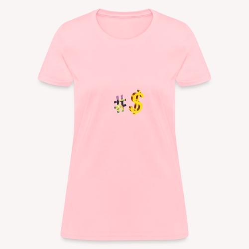 Dollar sign - Women's T-Shirt
