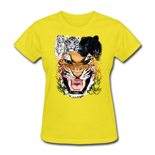 Big Cats - Women's T-Shirt