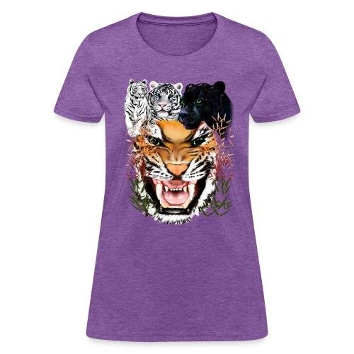 Big Cats - Women's T-Shirt