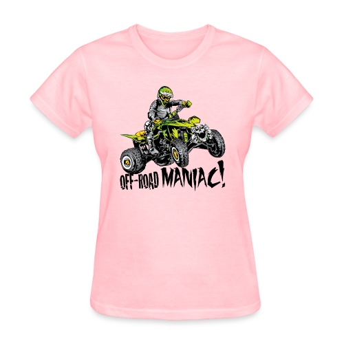 Off-Road Quad Maniac - Women's T-Shirt