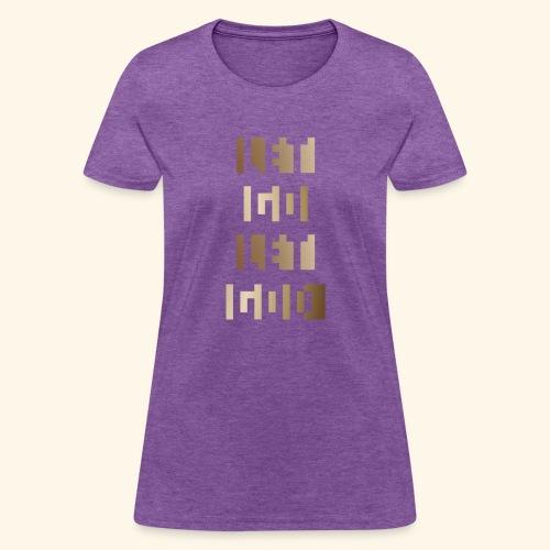 LET GO LET GOD LGLG #3 - Women's T-Shirt