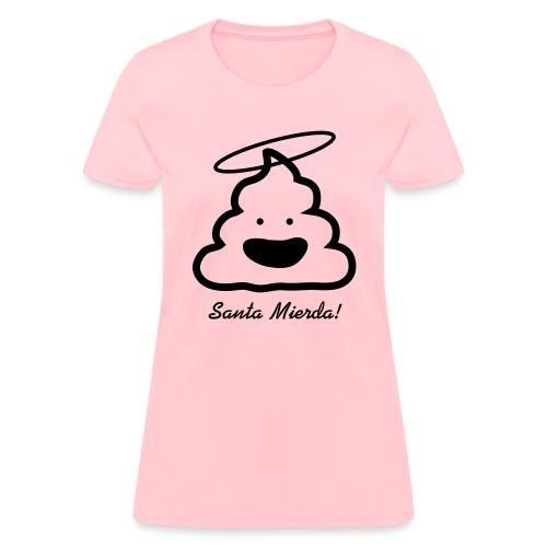 Santa Mierda logo - Women's T-Shirt