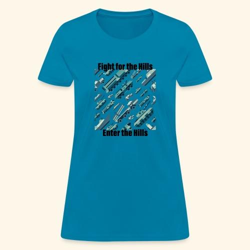 Fight or Enter - Women's T-Shirt
