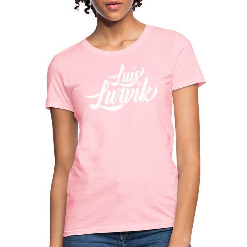 Luis Lurvik logo blanco - Women's T-Shirt