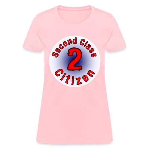 2nd Class Citizen Logo (Light) - Women's T-Shirt