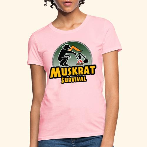 Muskrat round logo - Women's T-Shirt