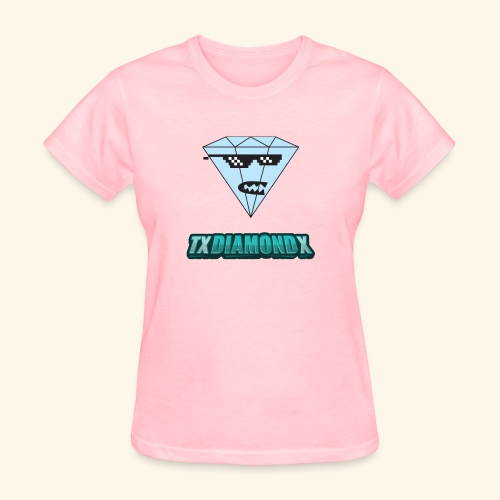 Txdiamondx Diamond Guy Logo - Women's T-Shirt
