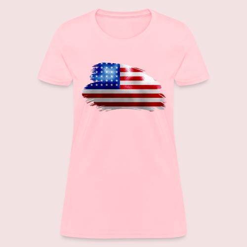 usa flag - Women's T-Shirt