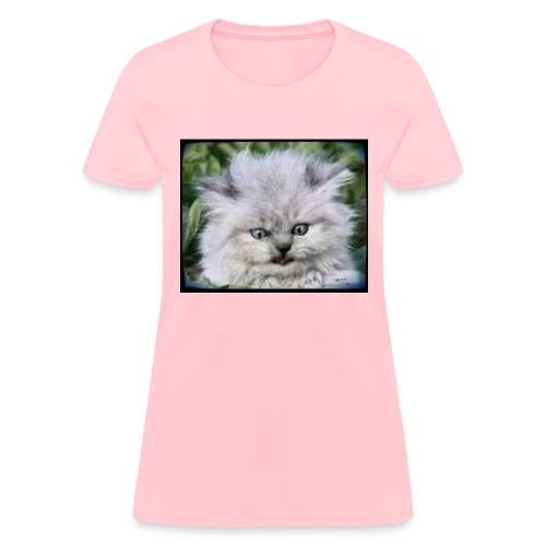 Pritty Kitteh - Women's T-Shirt