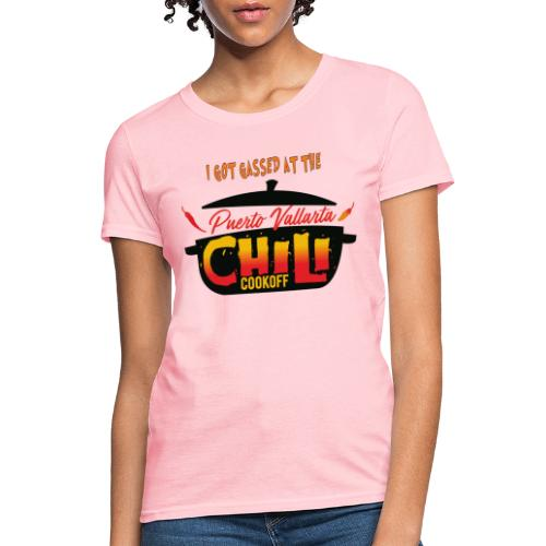 I Got Gassed at the PV Chili Cook-Off - Women's T-Shirt