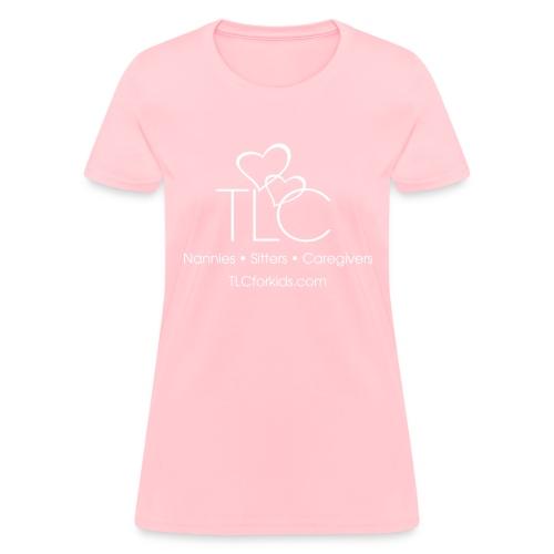 TLC White Logo - Women's T-Shirt