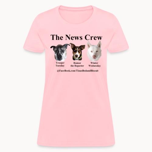NewsCrew - Women's T-Shirt