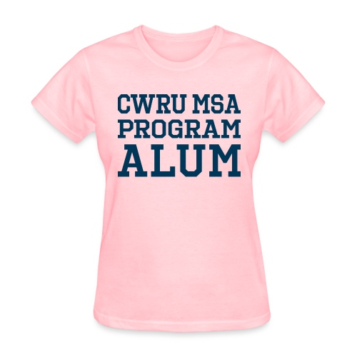 CWRU MSA Program Alum - Women's T-Shirt