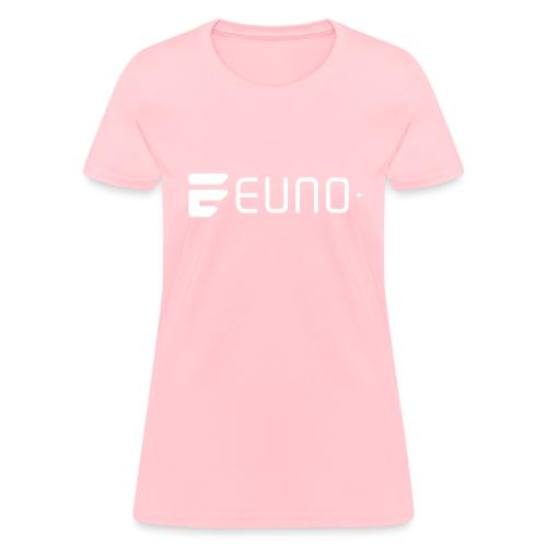EUNO LOGO LANDSCAPE WHITE - Women's T-Shirt