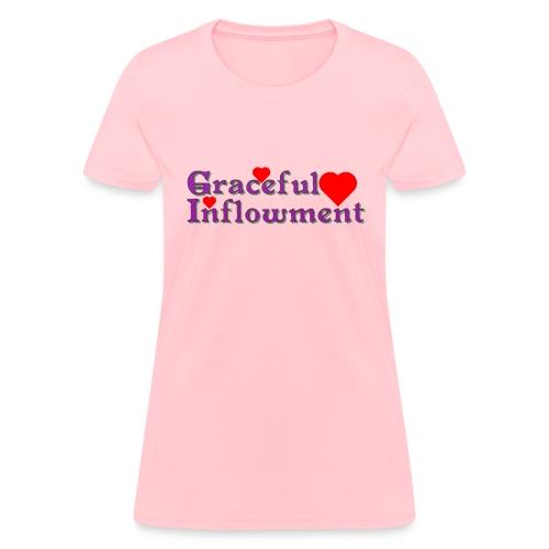 Graceful Inflowment - Women's T-Shirt