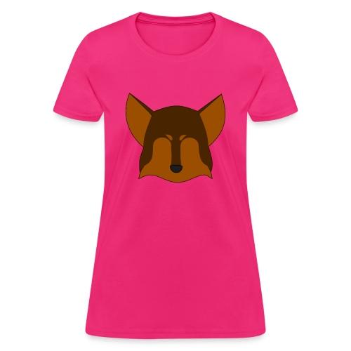 Simple Wolf Head - Women's T-Shirt