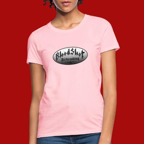 BloodShot Logo Black/White - Women's T-Shirt
