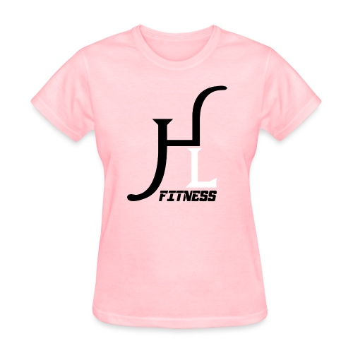 HIIT Life Fitness logo white - Women's T-Shirt