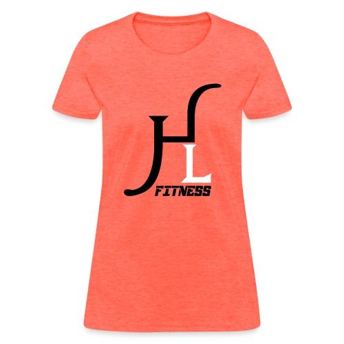 HIIT Life Fitness logo white - Women's T-Shirt