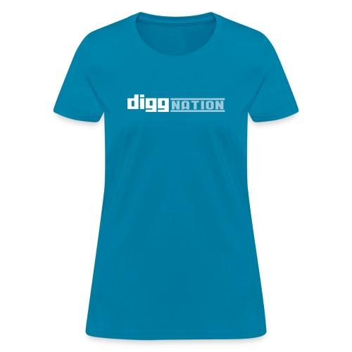 diggnation 2 color - Women's T-Shirt