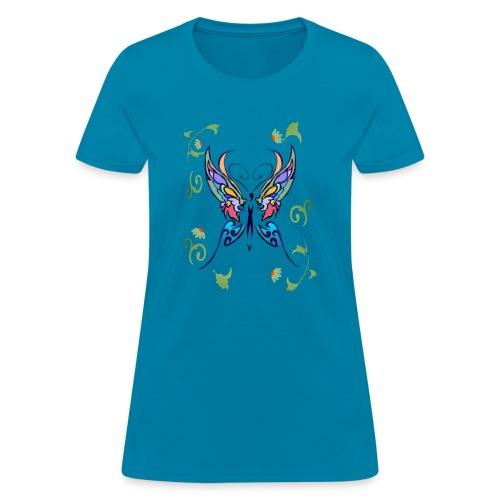 Bright Butterfly - Women's T-Shirt