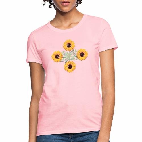 Night Blooms from the Sun - Women's T-Shirt