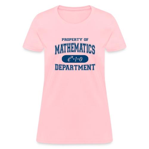 property of math - Women's T-Shirt