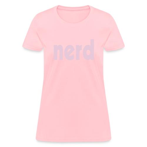 nerd - Women's T-Shirt