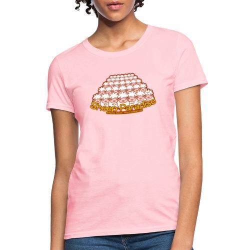 Sheep Paradise - Women's T-Shirt