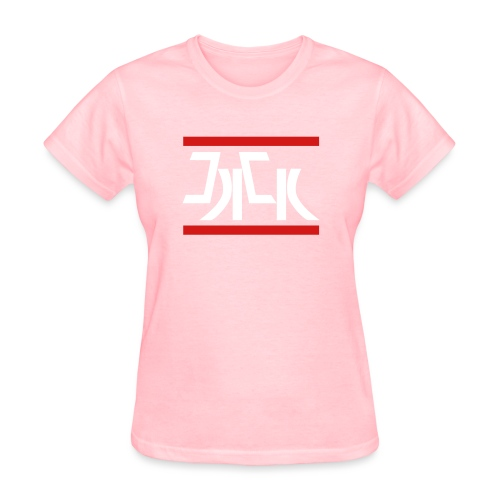 Jack Red White Logo - Women's T-Shirt