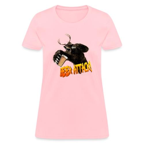 BEER ATTACK! - Women's T-Shirt