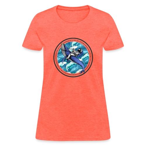 Astronaut Whale - Women's T-Shirt