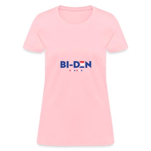 Bi-Den, Funny Political Pun - Women's T-Shirt