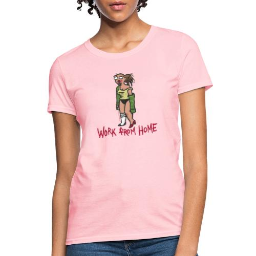 MEETING COMICS VAL WORK FROM HOME SHIRT - Women's T-Shirt