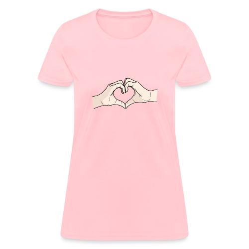 Heart Hands - Women's T-Shirt