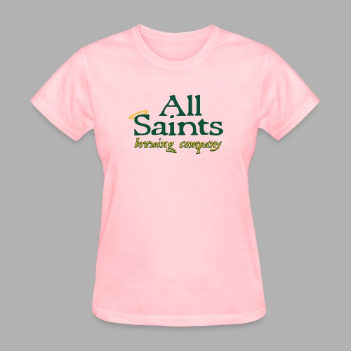 All Saints Logo Full Color - Women's T-Shirt