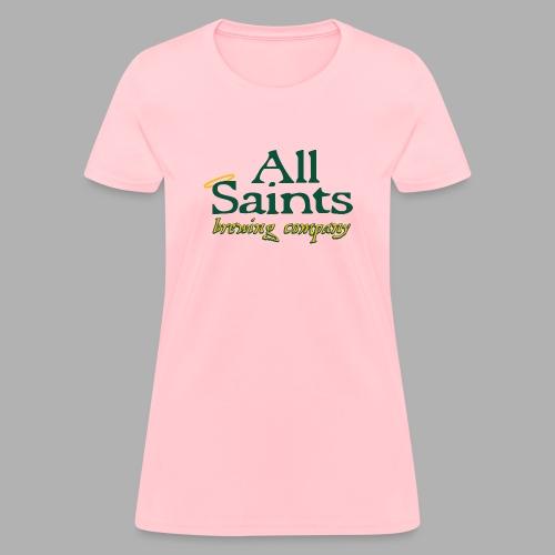 All Saints Logo Full Color - Women's T-Shirt