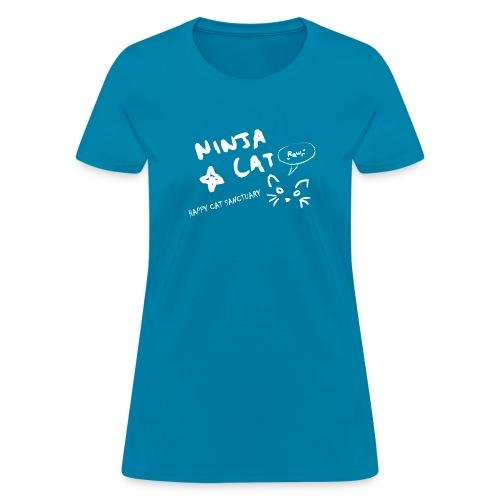 Ninja Cat Logo - Women's T-Shirt