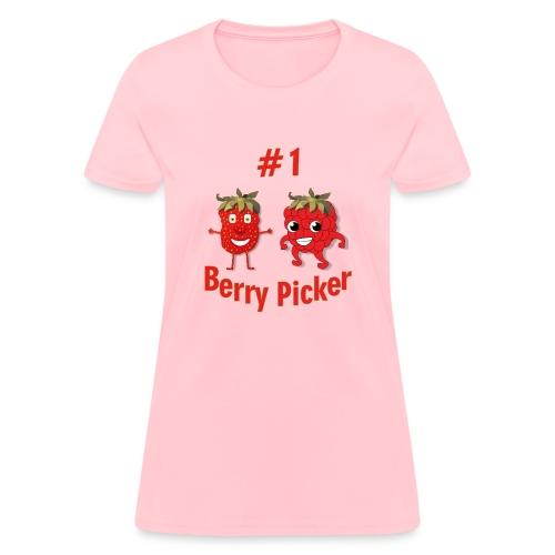 #1 Berry Picker - Women's T-Shirt
