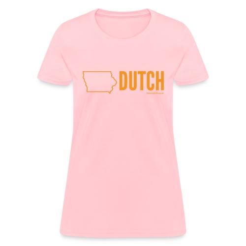 Iowa Dutch (orange) - Women's T-Shirt