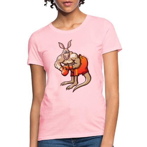 Olympic Boxing Kangaroo - Women's T-Shirt