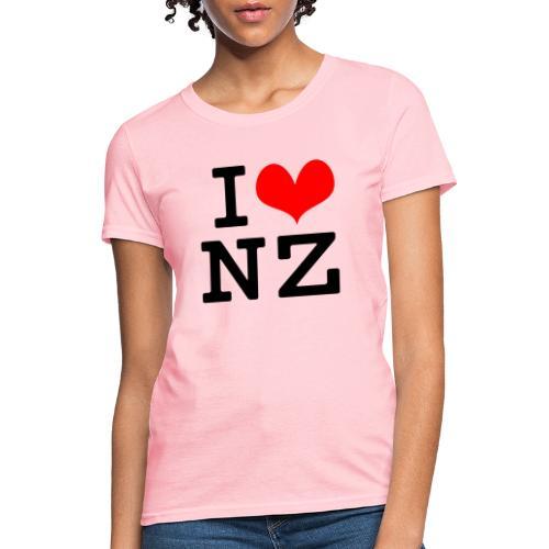 I Love NZ - Women's T-Shirt