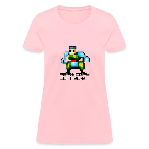 Poriticary Correct (Woman's) - Women's T-Shirt